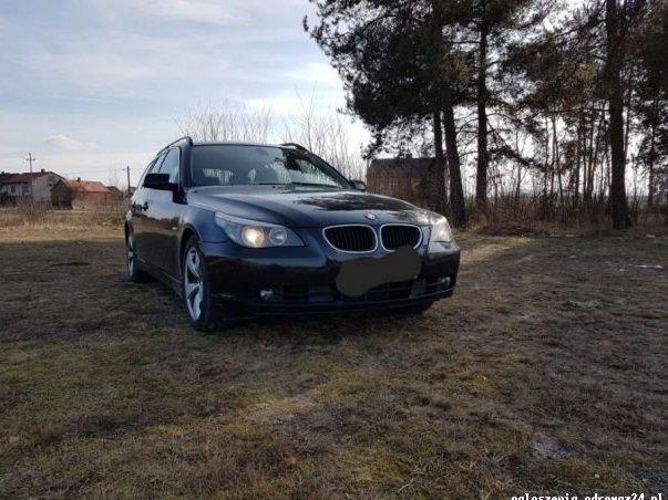 BMW E60 525D/2005r/2.5 diesel/Xenon/Navi/DVD/opłacony got.do rejestr