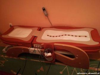 Nefrytowe łóżko masujące ,,Zen Medical